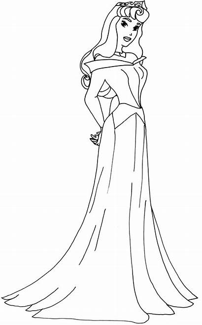 Coloring Pages Sofia Aurora Princess Disney Ariel
