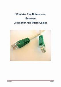 Crossover Cables Vs Straight