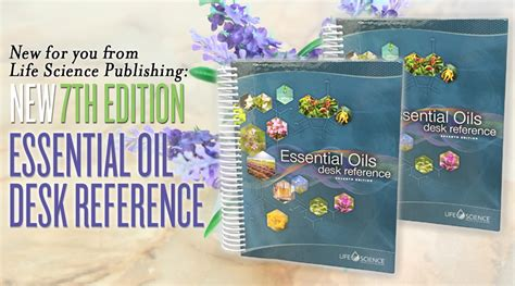 young living essential oils desk reference new for you from life science publishing 7th edition