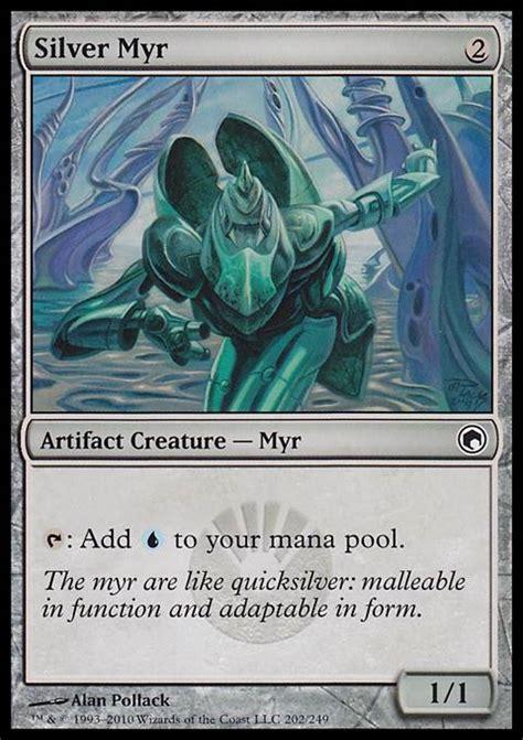 Mtg Myr Deck Tappedout by Silver Myr Mtg Card
