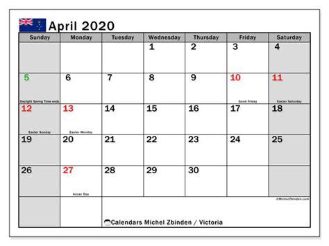 april  calendar victoria australia michel zbinden en