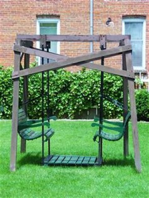 build  canopy glider swing woodworking projects