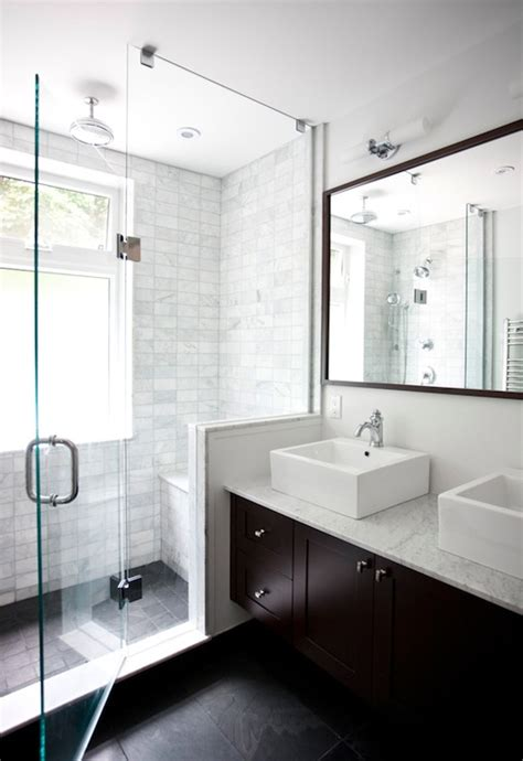 double floating vanity contemporary bathroom
