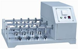 Stable Rubber Testing Machine , Electronic Leather Scratch ...