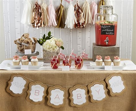 super cute rustic baby shower  lovely