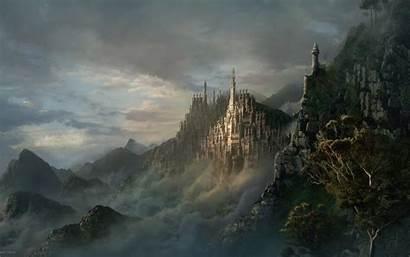 Medieval Castle Background