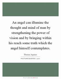 An angel can il... Power Of Vision Quotes