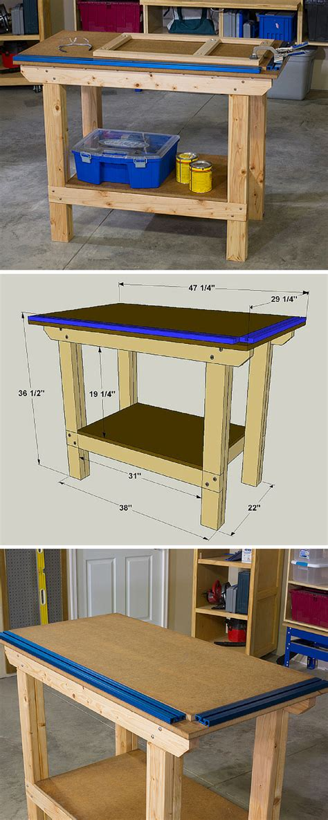 workbench  easy  build  built  withstand