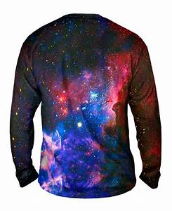 Yizzam- Carina Nebula Space Galaxy - New Mens Long Sleeve ...