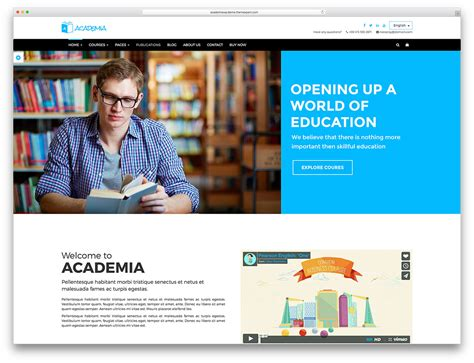 html education templates free education theme for courses 2018 mageewp