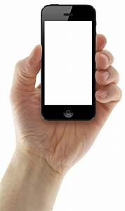 Hand Holding iPhone PNG Image - PurePNG | Free transparent ...