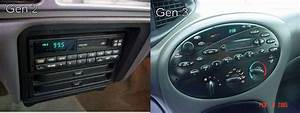1996 Mercury Sable Ls Gen 3 Integrated Control Panel