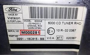 Code Autoradio Ford : ford radio codes official ~ Mglfilm.com Idées de Décoration
