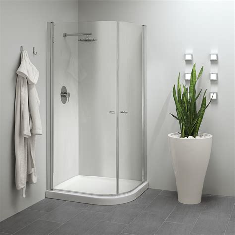 cabina doccia angolare  apertura esterna  interna