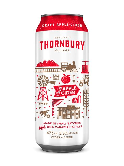 Thornbury Village Craft Apple Cider   LCBO