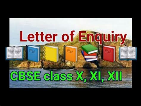 letter  enquiry cbse class  xi xii writing skills