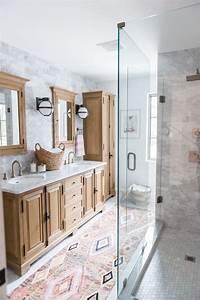 Modern, Boho, Bathroom, Renovation, Reveal