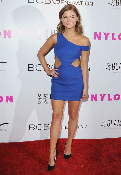 stefanie scott nylon young hollywood party  west