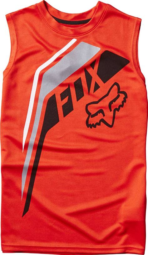 fox motocross t shirts fox racing youth fowler tank top boys sleeveless