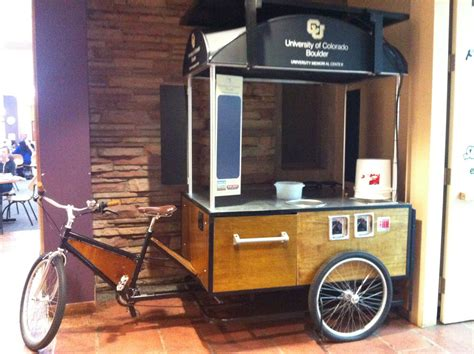 There more costs, but bigger opportunities as. Food cart bike | Food cart, Coffee carts, Bike food