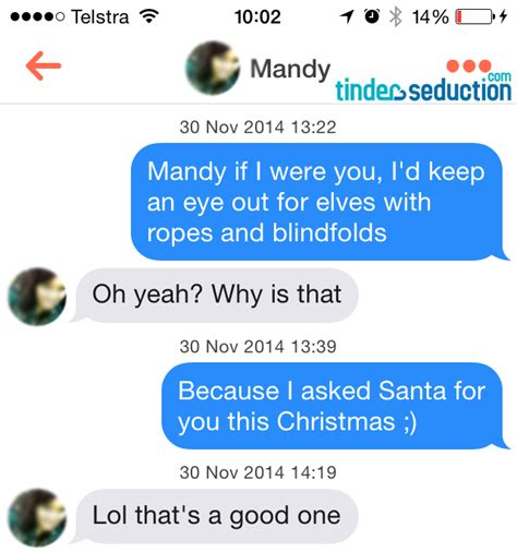 Tinder Pick Up Lines Christmas Special  Tinder Seduction. Resume Templates For Customer Service. Sample Resume In Pdf. Search Resumes On Craigslist. Writing A Resume With No Job Experience. Resume Dox. Objective Statement For Management Resume. Resume For Accounts Receivable. Empty Resume