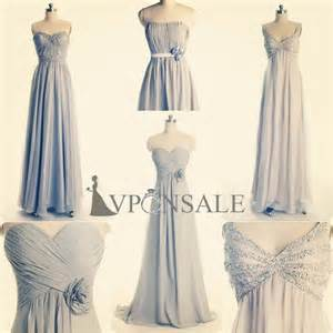 silver bridesmaid dress winter wedding colors blue shades silver vponsale wedding custom dresses