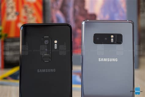 samsung galaxy s9 samsung galaxy s9 vs galaxy note 8 phonearena