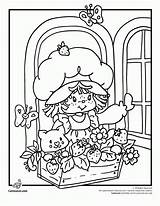 Coloring Strawberry Shortcake Pages Cartoon 80s Berrykins Printable Books Classic Sheets Fashioned Clipart Print Friends Characters Clip Library Jam Cherry sketch template