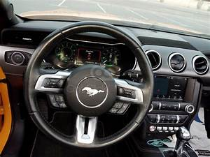 Rent Ford Mustang V6 Convertible 2019 car in Dubai: Day, week, monthly rental