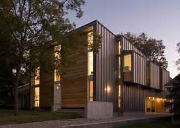 Exterior Options For Metal Buildings by Fairfield House Modern Exterior Austin By Webber Studio Architects