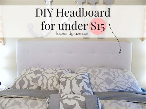 Cheap Easy Headboard Ideas by Diy Headboard For 15 I Could Make This