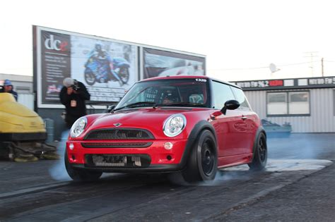Mini Drag Car by 2002 Mini Cooper S 1 4 Mile Trap Speeds 0 60 Dragtimes