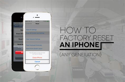 how to factory reset iphone 6 plus iphone iphone factory reset