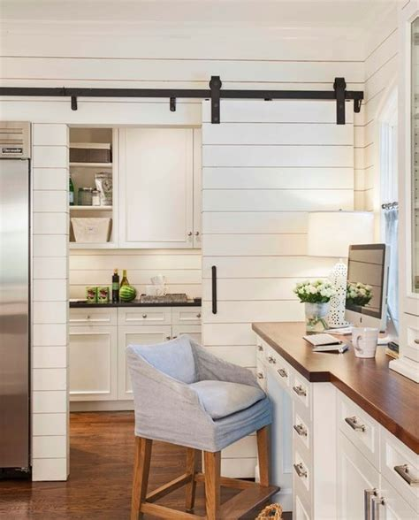 White Modern Kitchen Ideas - 51 awesome sliding barn door ideas home remodeling contractors sebring design build