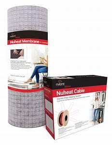 Nuheat Cable  U0026 Nuheat Membrane