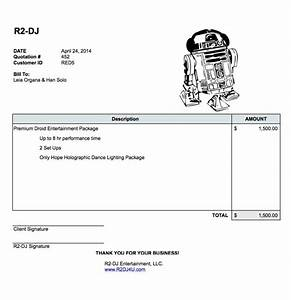dj contracts quotes With printable dj invoice