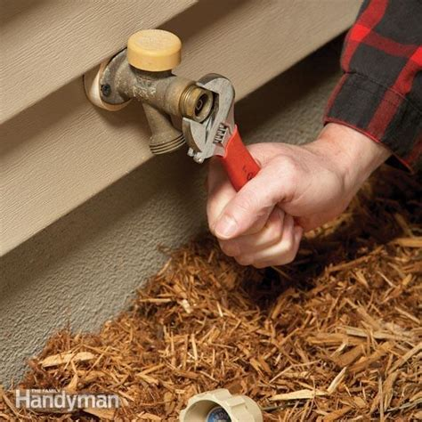 Outdoor Faucet Repair: Fix a Noisy Faucet   The Family