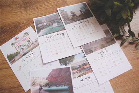 make a desk calendar with pictures diy 2014 desk calendar april everyday