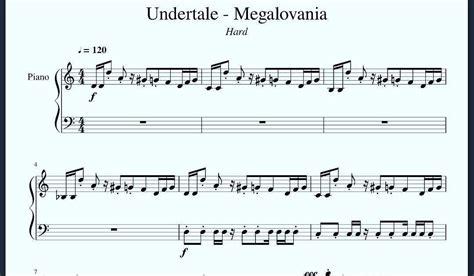Free megalovania piano sheet music is provided for you. Undertale Piano Sheet Music Megalovania - Music Sheet Free