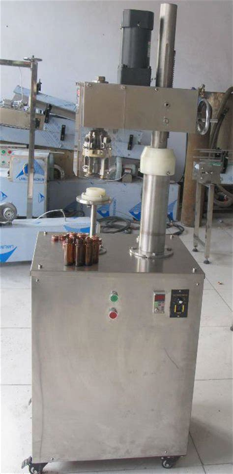 glass bottles aluminum metal caps ropp capping machine semi automatic screw ropp capper