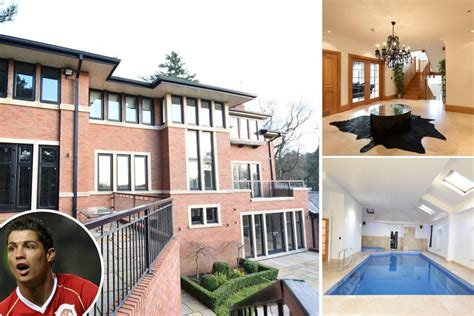 cristiano ronaldo sells  cheshire mansion complete