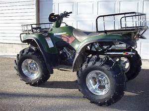 Kawasaki Prairie 650 With 27 U0026quot  Mudlites  U0026 Itp Chrome Rims  2 U0026quot  Lift  2 U0026quot  Wheel Spacers  Full Idsx