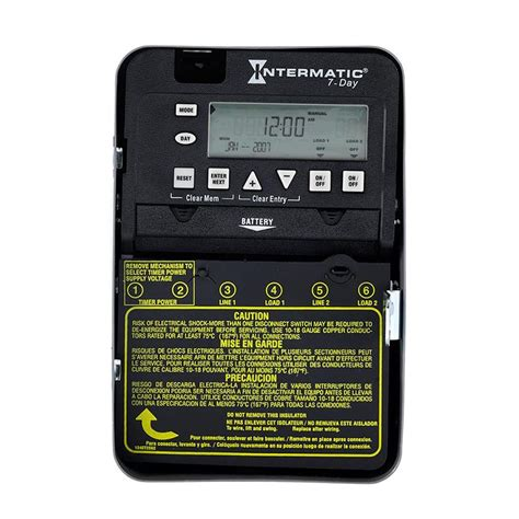 intermatic 30 digital residential lighting timer at lowes
