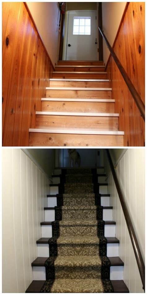 basement stairs makeover   real