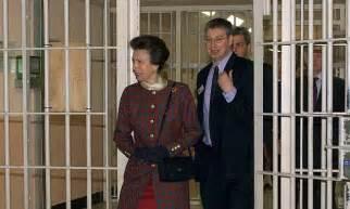 princess anne  visit inmates  rolf harris jail hmp