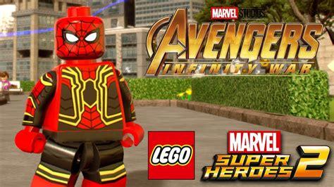 lego marvel super heroes  avengers infinity war spider