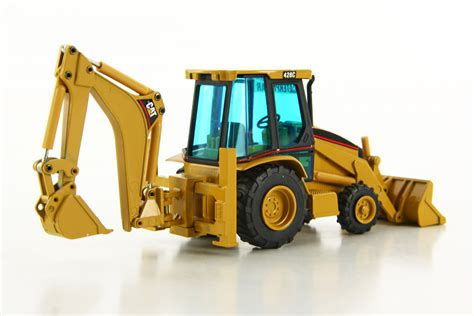 Caterpillar 428C Backhoe-DHS Diecast Collectables, Inc