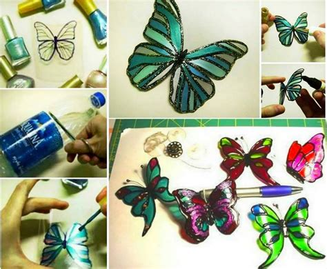 colorful diy butterfly crafts projects