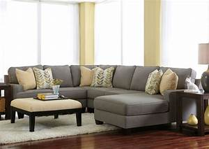 28 best nebraska furniture mart images on pinterest for Flexsteel 4 piece sectional sofa with right arm facing chaise in brown