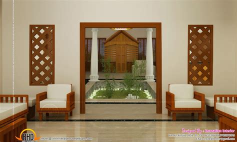 Living Room Interior Kerala by Traditional Window Living Room Courtyard Design Kerala
